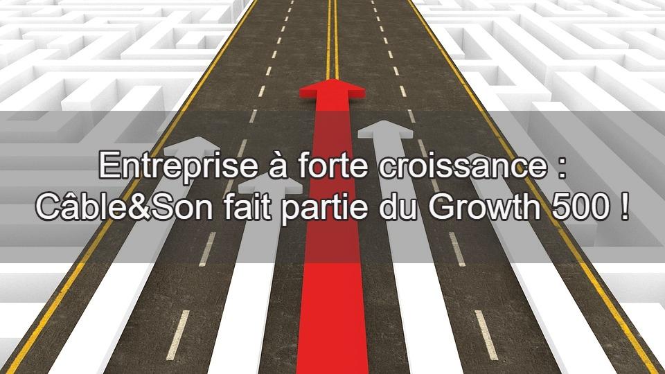 entreprise forte croissance